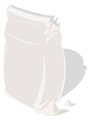 illustration : sac de pl�tre